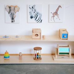 Birch Low Montessori Infant Shelf – Sprout