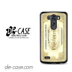 Hogwarts Platform For LG G3 Case Phone Case Gift Present YO