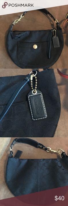Coach handbag Coach handbag. Black c pattern. Coach Bags Shoulder Bags