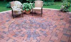 Round Brick Patio Patterns   Google Search