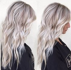 Your hair is a dream of hairbymarissasue Platinum Blonde Hair Asiaaceline Dream Hair hairbymarissasue sienaceline Blonde Hair Looks, Balayage Hair Blonde, Brown Blonde Hair, Platinum Blonde Hair, Blonde Honey, Medium Blonde, Honey Hair, Hair Medium, Blonde Grise