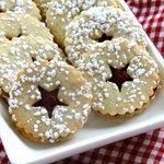 Cranberry Cornmeal Linzer Cookies Recipe