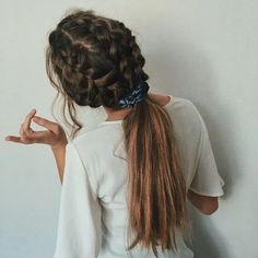 effortless hairstyles you can rock when you're in a rush 9 ~ my. effortless hairstyles you can roc. Box Braids Hairstyles, Summer Hairstyles, Pretty Hairstyles, Hairdos, Hairstyles Men, Hairstyles With Headbands, Wedding Hairstyles, Heatless Hairstyles, Blonde Hairstyles