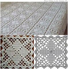 Die 1081 Besten Bilder Von Quadratmuster Crochet Granny Crochet