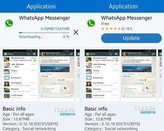 Cómo descargar WhatsApp en tu Smartphone Samsung con Tizen