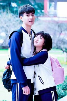 A love is beautiful with Hu Yi Tian Cute Couple Art, Cute Couples, Sweet Couple, Live Action, Kdrama, Korean Picture, Video Romance, Good Morning Call, Chines Drama