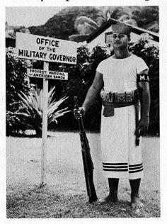 Samoa Military Lavalava