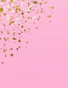 Background Of The Pink Bottom Golden Star Party Pink Star Background, Party Background, Background Images, Iphone Background Wallpaper, Pink Wallpaper, Flower Wallpaper, Simple Backgrounds, Flower Backgrounds, Plan Image