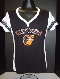 01165a4bf Baltimore Orioles Womens Majestic Poly Jersey Shirt- Free Shipping! - MSRP   45  Majestic  BaltimoreOrioles