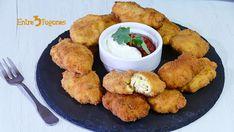 Nuggets de Pollo y Queso Pollo Tandoori, Tandoori Chicken, Queso, Meat, Ethnic Recipes, Food, Ethnic Food, Recipes With Chicken, Sweet And Saltines