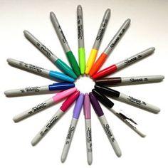 Mes nouveaux marqueurs !!! @ig_sharpieart @sharpie #carinecreation65 #sharpie #marqueur #marker #dessin #feutre #art #couleur #colorart #delacouleurpleinlatete #