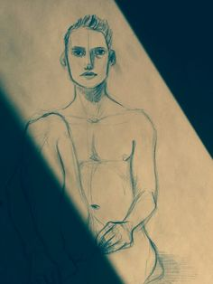 #sketch #guy #drawing #nude