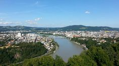 View from Franz Josef Warte River, Outdoor, Linz, City, Outdoors, Outdoor Games, The Great Outdoors, Rivers