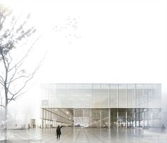 Atelier Lorentzen . NEW SCHOOL OF ARCHITECTURE . AARHUS (1)