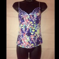 Cute tank by kimchi&blue Size small multi colored very cute brand is kimchi&blue Tops Tank Tops