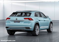 Volkswagen Cross Coupe GTE Concept 2015 poster, #poster, #mousepad, #tshirt, #printcarposter