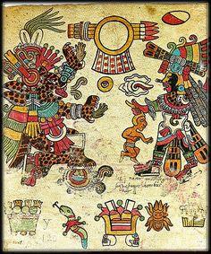 Tezcatlipoca and Quetzalcoatl