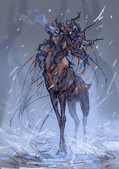 Frozen Silence - Sketch by Nigreda on DeviantArt