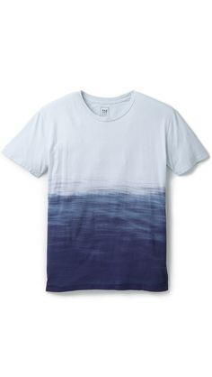 Quality Peoples Ocean Dip Dye T-shirt $50