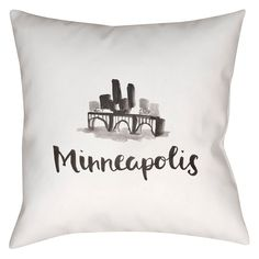 The perfect Souvenir from your favorite town? One of these stylish pillows in your home décor of course! Please allow for an additional 5-7 days for these items to be created and shipped to you. Spot clean only, and patio safe!