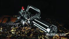 Meet Empty Shell's Handheld Gatling: The Microgun