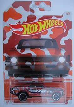 Hot Wheels 2015 Exclusive Camouflage Series 68 Chevy Nova Red ** Examine this awesome item by mosting likely to the web link at the image. (This is an affiliate link). Toy Model Cars, Chevy Nova, Hot Wheels Cars, Christmas Toys, Cool Items, Diecast, Camouflage, Antique Cars, Antiques