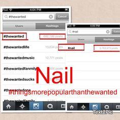 Haha #thingsmorepopularthanthewanted