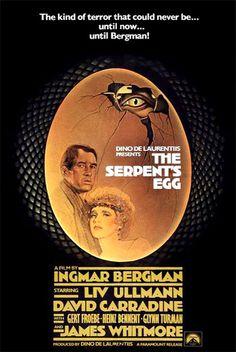 The Serpent's Egg (1977) D/Sc: Ingmar Bergman. David Carradine, Liv Ullman, Gert Frobe. 16/01/07