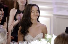 Canadian Prime Minister Justin Trudeau was given a state dinner at the White House, at which Sasha and Malia Obama made their state dinner debut as well.