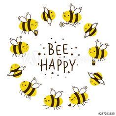 Bumble Bee Clipart, Honey Bee Drawing, Bubble Quotes, Honey Bee Hives, Honey Bees, Bee Images, Bee Illustration, Bee Creative, Cute Bee