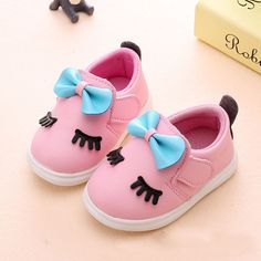 aaf142af5 0 2 Year Old 11 15CM Baby Shoes Baby Girls Fashion Butterfly Knot Toddler  Shoes Newborn PU Cork Casual Infant Shoes Light Sole -in Sneakers from  Mother ...