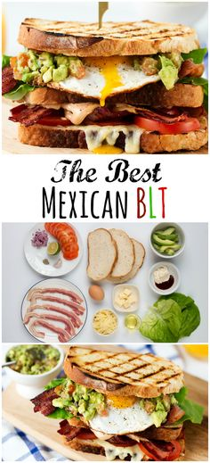 This Mexican BLT makes the best brunch ever!