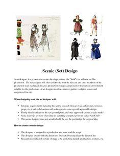 Costume & Set Design Unit