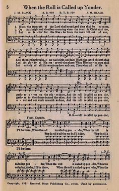 The Importance Of Hymns In Worship