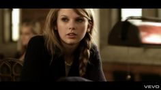 Can I please just have her hair? Now?--Story of Us music video