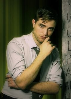 Robert Pattinson for the TV Week photo shoot in 2010