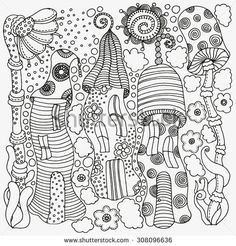 Kids Coloring Pages Stock Photos, Royalty-Free Images & Vectors ...
