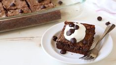 Classic gooey butter cake gets a decadent, chocolaty twist in this easy recipe.
