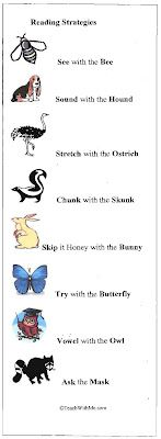 Classroom Freebies: Reading Strategies Bookmark