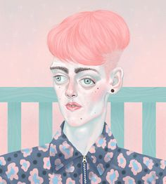 Seungpyo Hong on Behance | An Introverted Boy