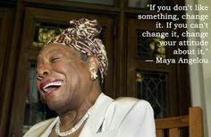 Maya Angelou - Wow Great Lady!