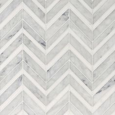 Avenza Honed&polished Chevron Fusion Marble Waterjet Decos - Country Floors of America LLC. Marble Mosaic, Mosaic Tiles, Wall Tiles, Stone Mosaic, Floor Texture, Tiles Texture, Marble Texture, Floor Patterns, Tile Patterns