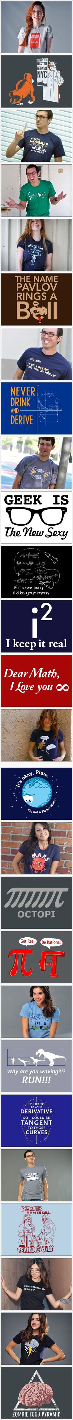 Coolest geek t-shirt designs by SnorgTees | Things for Geeks