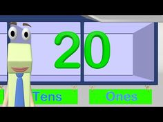 Place Value First Grade - Tens and Ones - This is an informational video to teach about place value. I would use this video as a mini-lesson whole-group. Fun Math, Math Games, Math Activities, Maths, Indoor Activities, Math Resources, Homeschooling Resources, Teaching First Grade, Teaching Math