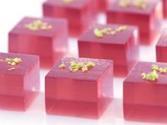 Cosmo jello shots!. have to try this for girls night! or maybe my sisters bachaloreatte