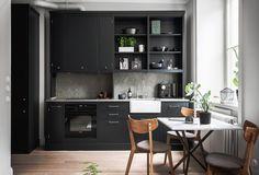 Cocinas Aprovechar al máximo un Mini piso.