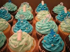 It's a Boy Baby Shower Cup Cakes