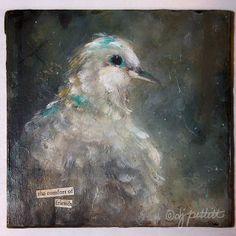 Mourning Dove acrylic
