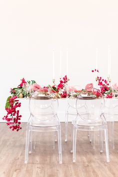 Modern Tropical Wedding Inspiration with Bougainvillea and Tropical Plants at The 1912 Moderne tropische Hochzeitsinspiration mit Bouganvilla und tropischen Pflanzen am 1912 Exotic Wedding, Floral Wedding, Our Wedding, Wedding Flowers, Elegant Wedding, Wedding Bouquets, Destination Wedding, Wedding Locations California, California Wedding