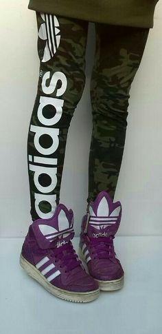 #camo #adidas legging #jeremyscott jeremy scott adidas